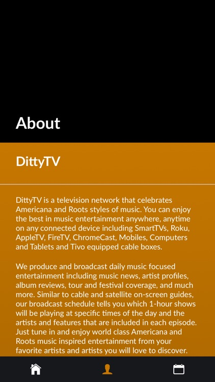 DittyTV - Americana Music TV screenshot-4