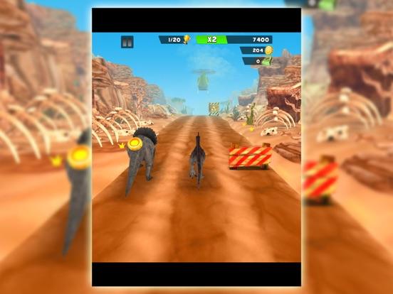 Игра динозавр бежать:  парк охота