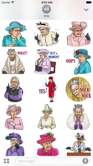 Our Queen Elizabeth II Sticker screenshot 2