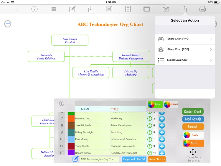 Org Chart Maker screenshot-3