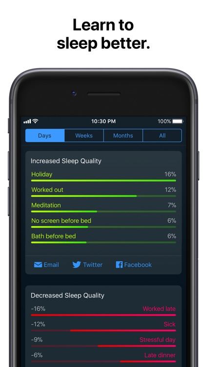 Sleep Cycle: smart alarm clock screenshot-3