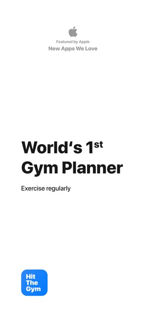Workout Planner: Hit The Gym Screenshot