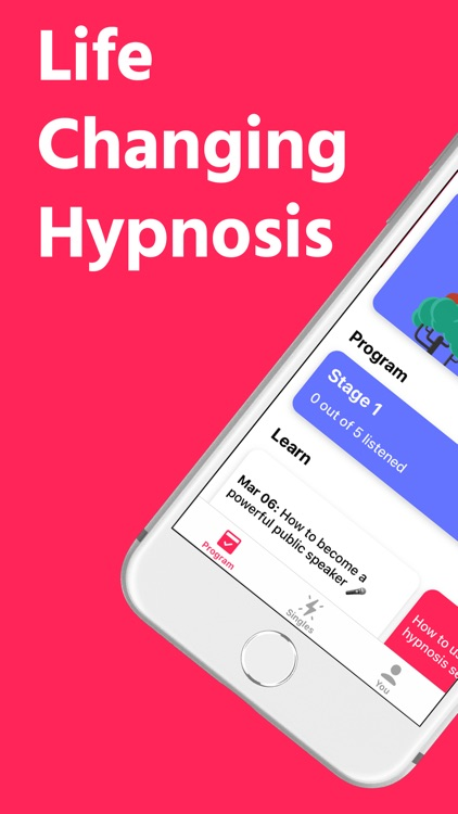 Mindset: Hypnotherapy & Sleep screenshot-0