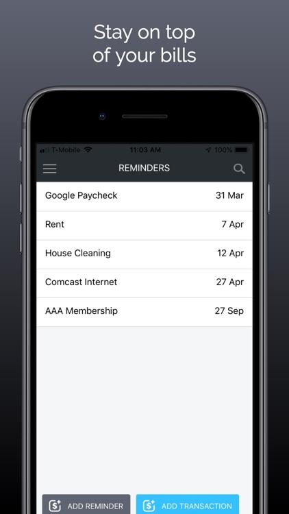 Buxfer: Budget & Money Manager screenshot-3