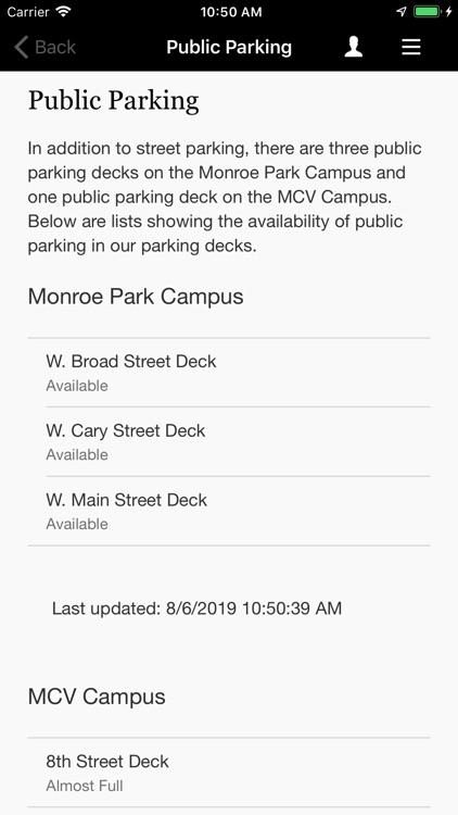 VCU Mobile screenshot-5
