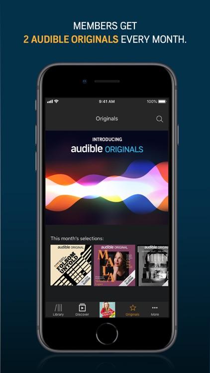 Audible audiobooks & originals screenshot-4