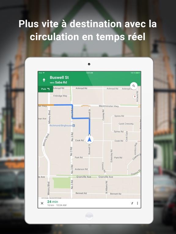 Screenshot #4 pour Google Maps - GPS & transports