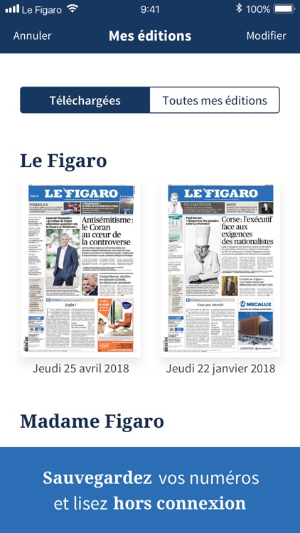 Kiosque Figaro : le Journal screenshot-4