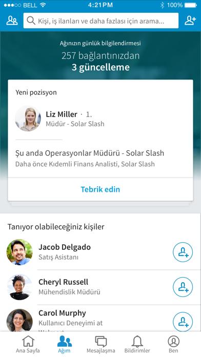 Screenshot for LinkedIn in Turkey App Store