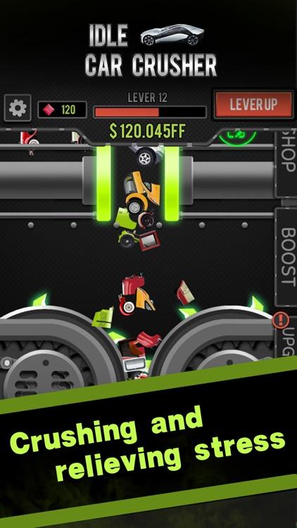 Idle Car Crusher screenshot-0