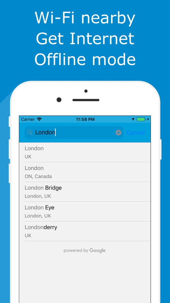 free wifi finder app for iphone