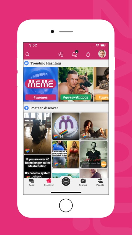 Moovz: The LGBT social network
