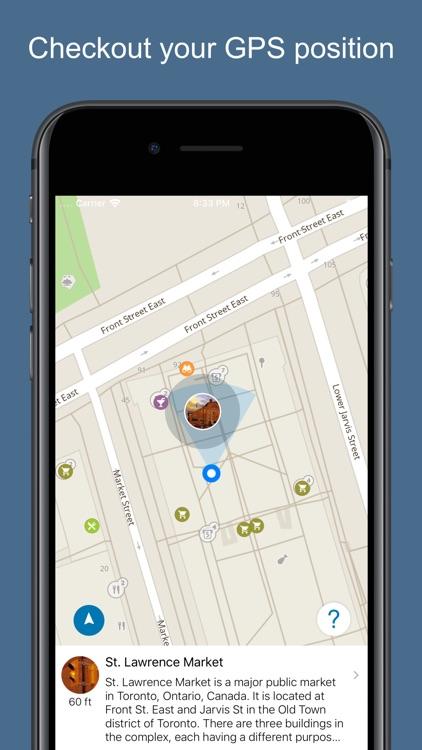 Toronto 2020 — offline map