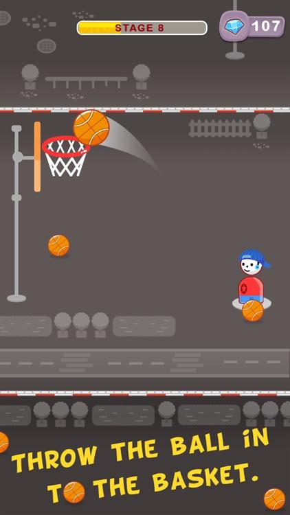 Street Dunk Basketball Game