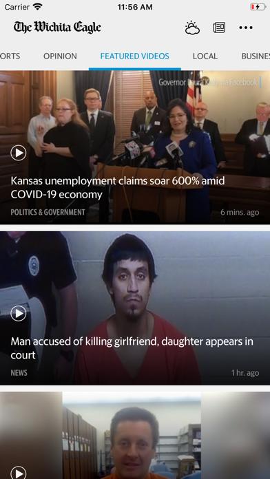 The Wichita Eagle News review screenshots