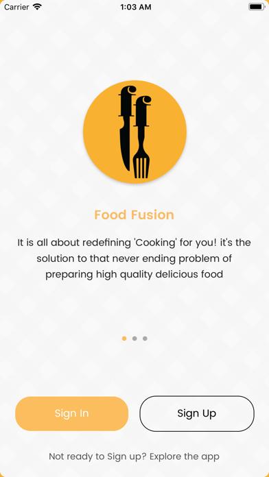 Food Fusion screenshot two