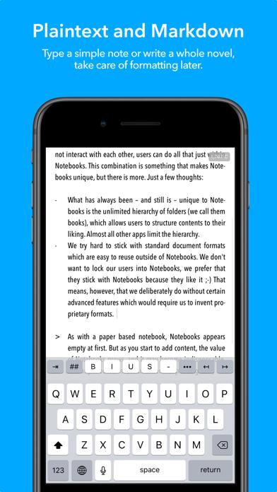 Notebooks - Write and Organize Screenshots