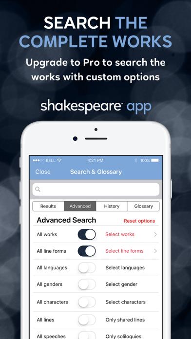 Shakespeare screenshot one