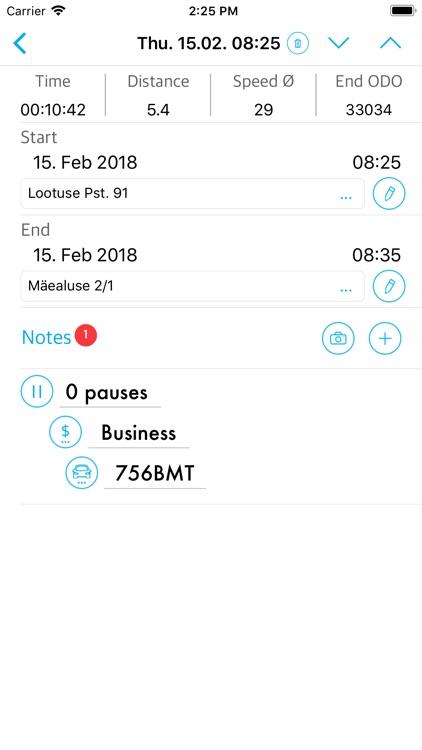 Logify Automatic Mileage Log screenshot-5