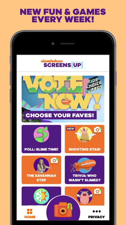 SCREENS UP by Nickelodeon