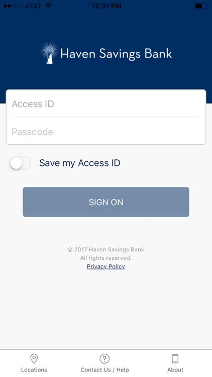 Haven Savings Bank Mobile