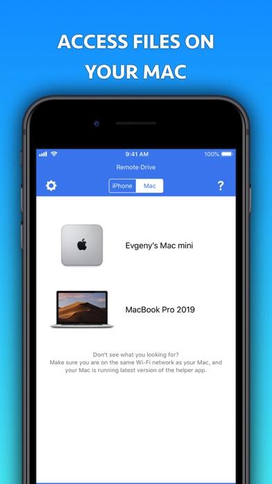 Remote Drive for Mac [Pro]
