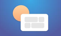 Ícone do app DayView - Personal Dashboard