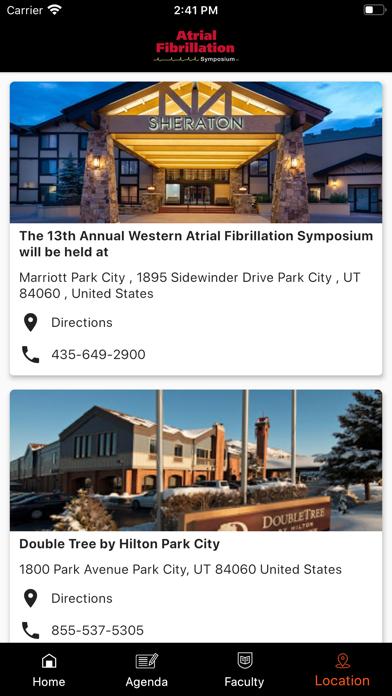 WesternAF Symposium screenshot 4