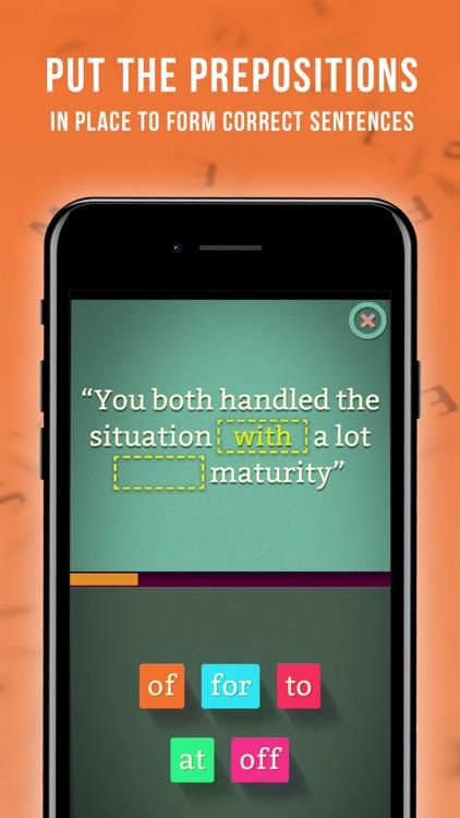 Preposition Builder Master screenshot-0