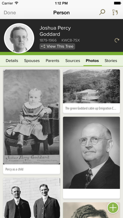 Screenshot for FamilySearch Tree in United States App Store