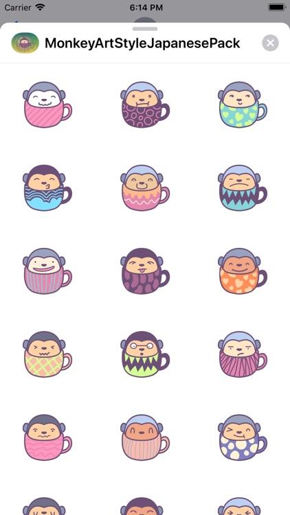 MonkeyArtStyleJapanesePack