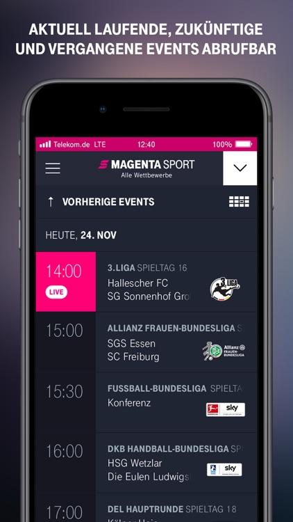 MagentaSport – DEL, BBL live screenshot-4