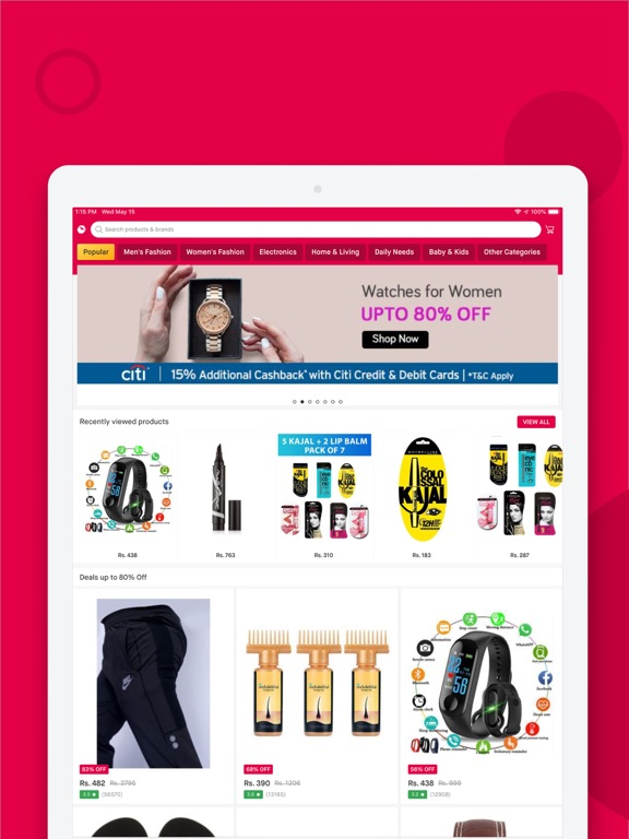 Screenshot #4 pour Snapdeal: Online Shopping App