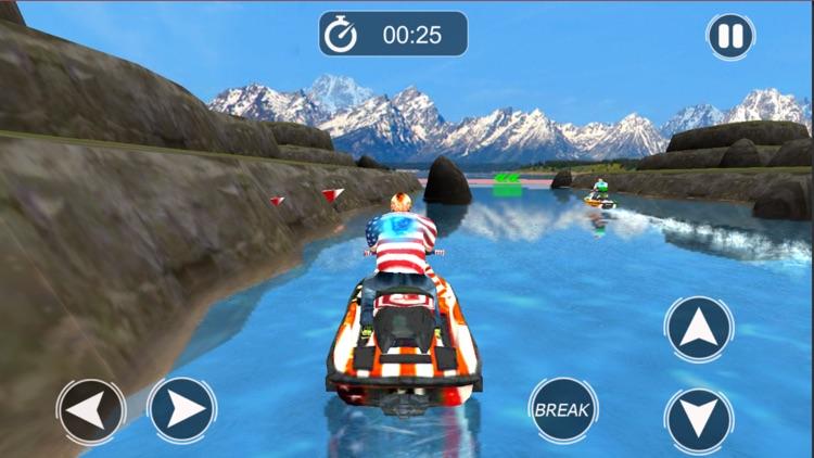 Extreme JetSki Water Racing