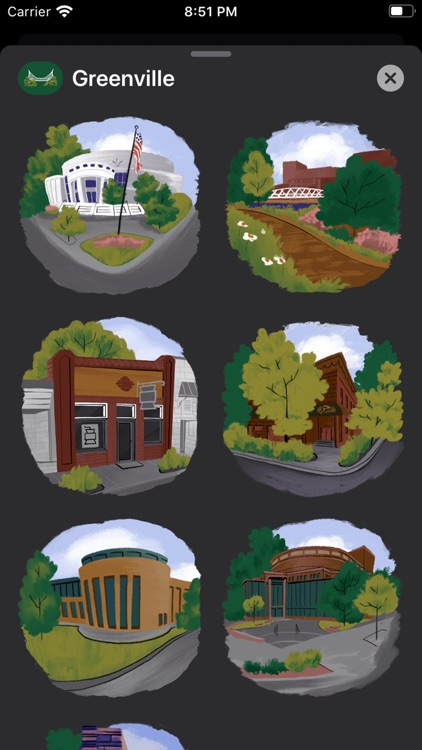Greenville Stickers screenshot-1