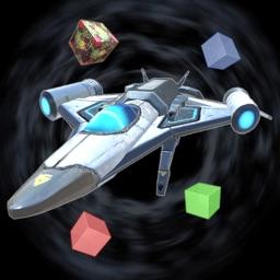 Glassy Portals: Space Race