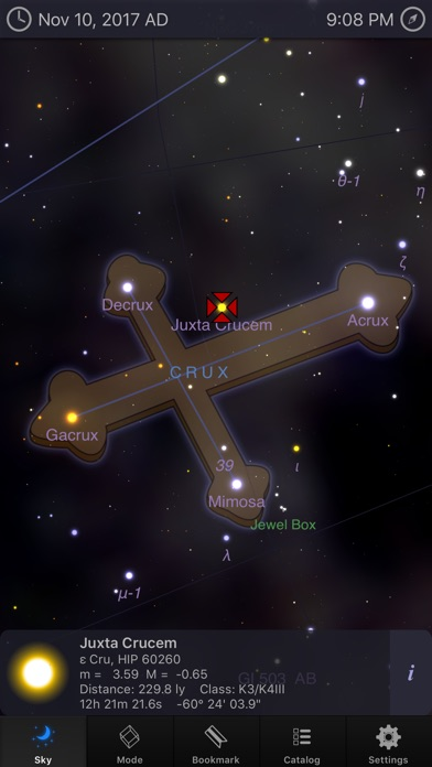 Screenshot #8 for StarMap 3D+ Plus