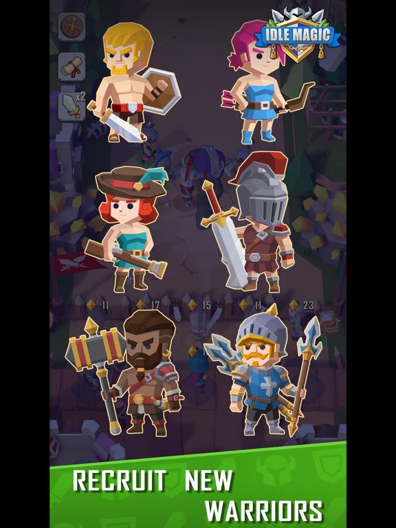 Idle Magic screenshot 3