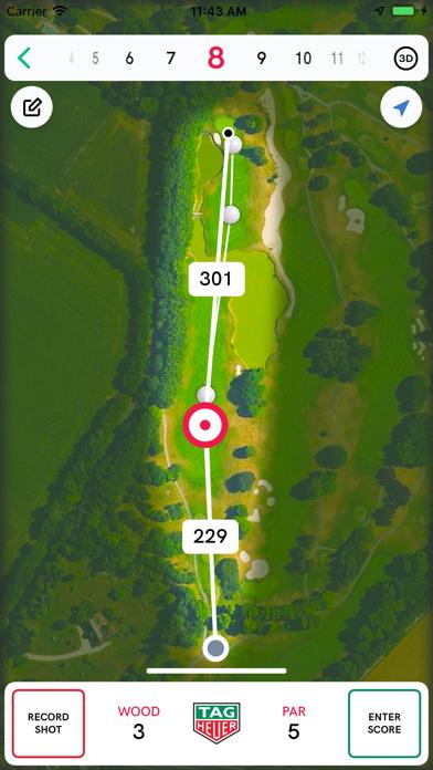 TAG Heuer Golf Screenshot