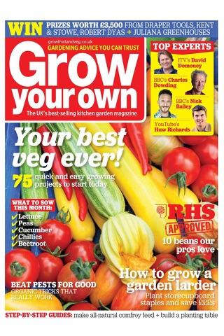 Grow Your Own Magazine - náhled