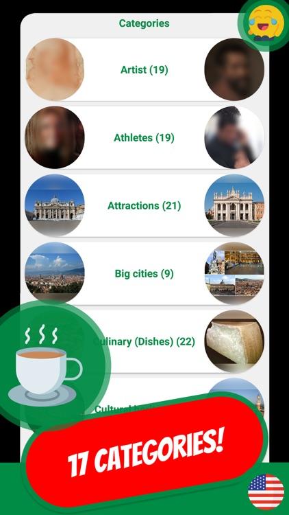 ITALY & PASTA Quiz