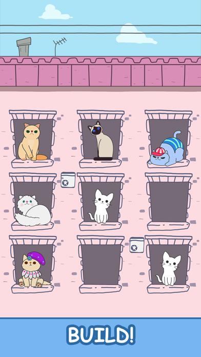 Cats Tower - Merge Kittens 2 screenshot two