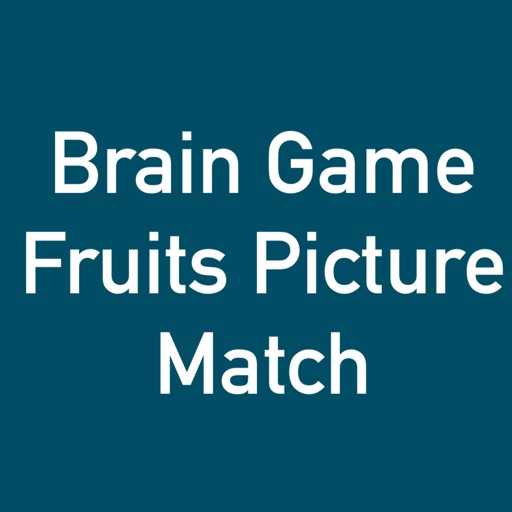 Brain Game Fruit Picture Match