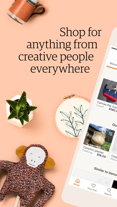 Screenshot for Etsy – Shop Creative in Poland App Store