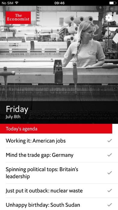 Economist Espresso Screenshot