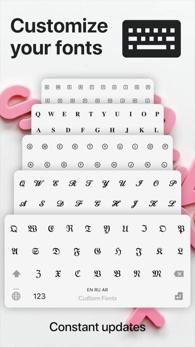フォント + 日本語フォント & Emojiのおすすめ画像1