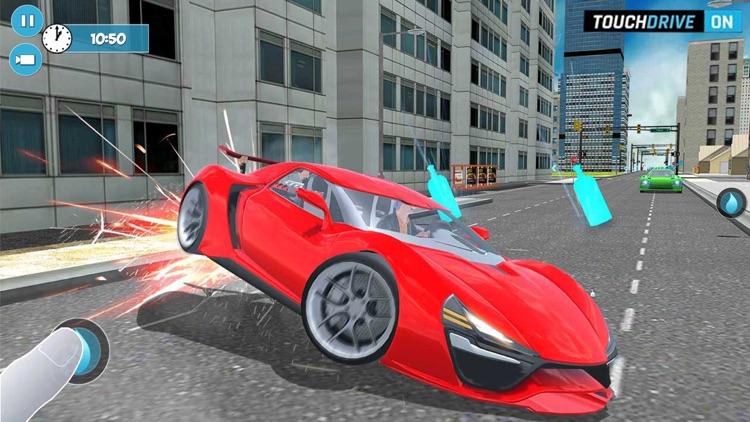 Highway Street Car Nitro Rider screenshot-4