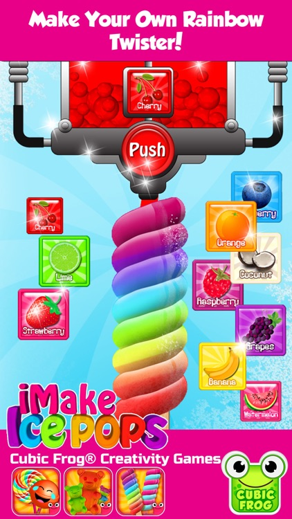 Popsicle Maker Ice Cream Games