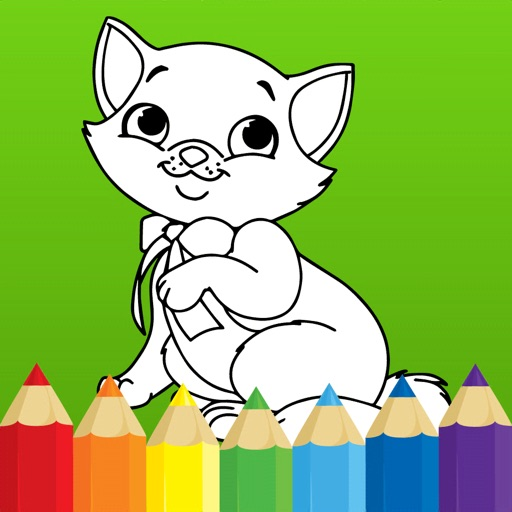 Coloring book: Draw Animals