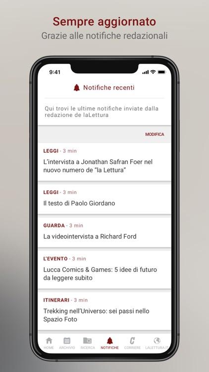 la Lettura Corriere della Sera screenshot-3